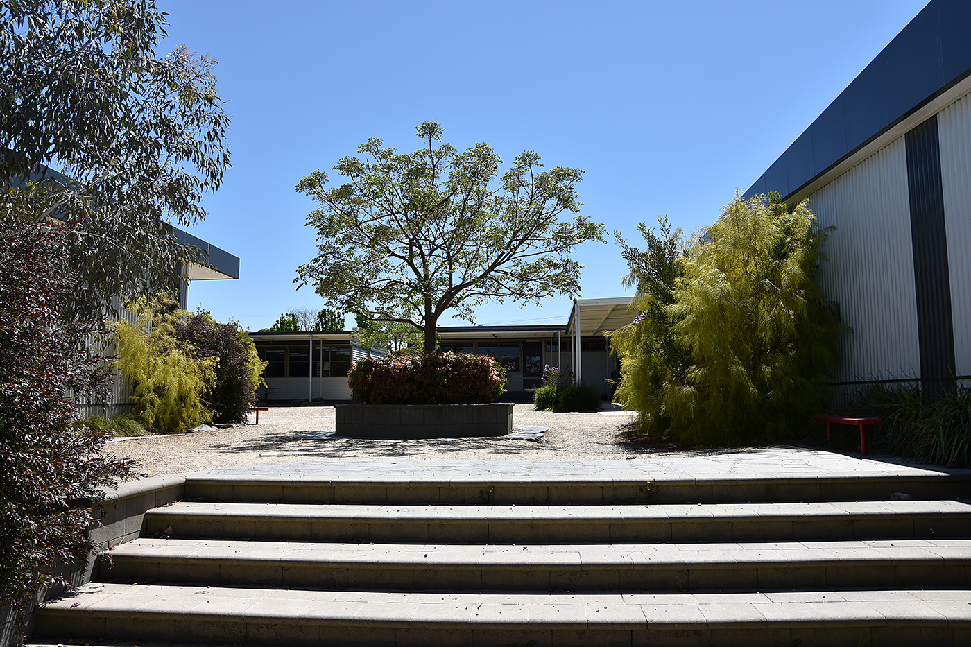 M Block Courtyard
