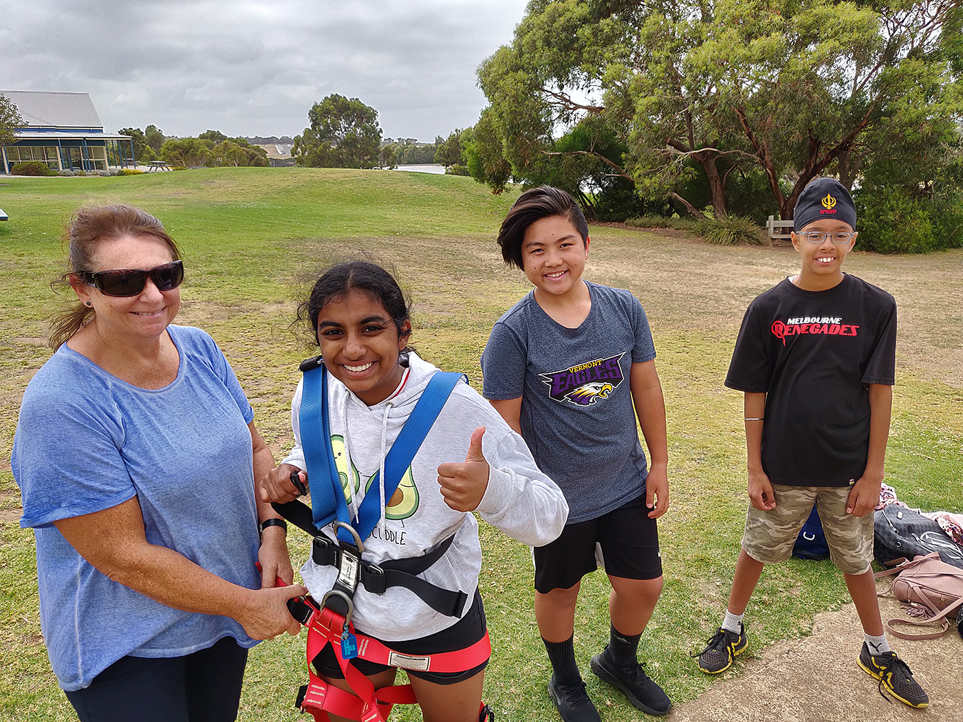 Yr7 Camp Ropes Course 2