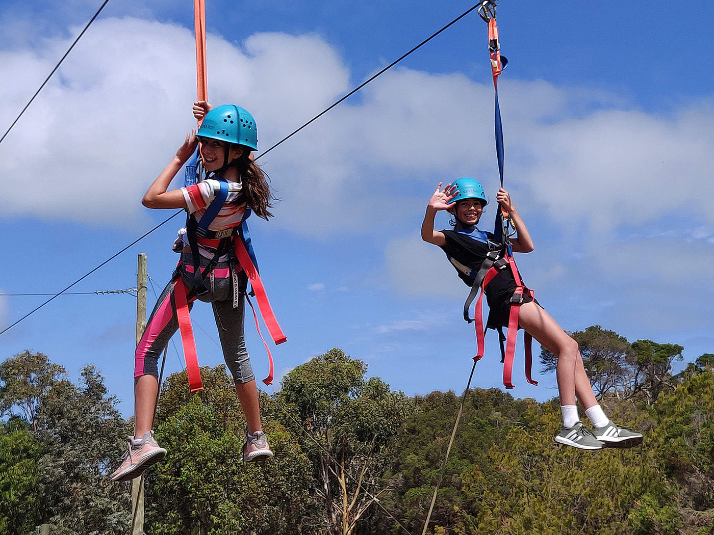 Yr7 Camp Ropes Course 4