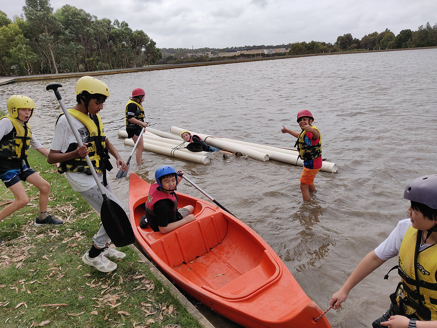 Yr7 Camp Water